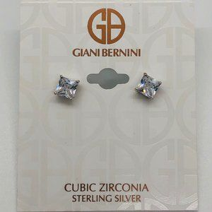 Brand New Giani Bernini Sterling Silver Studs